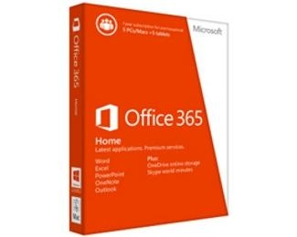 MICROSOFT Office 365 Home English Subscr 1YR Central/Eastern Euro Only Medialess 6GQ-00948