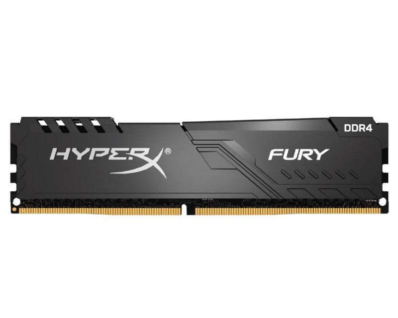 KINGSTON DIMM DDR4 8GB 2666MHz HX426C16FB3/8 HyperX Fury Black
