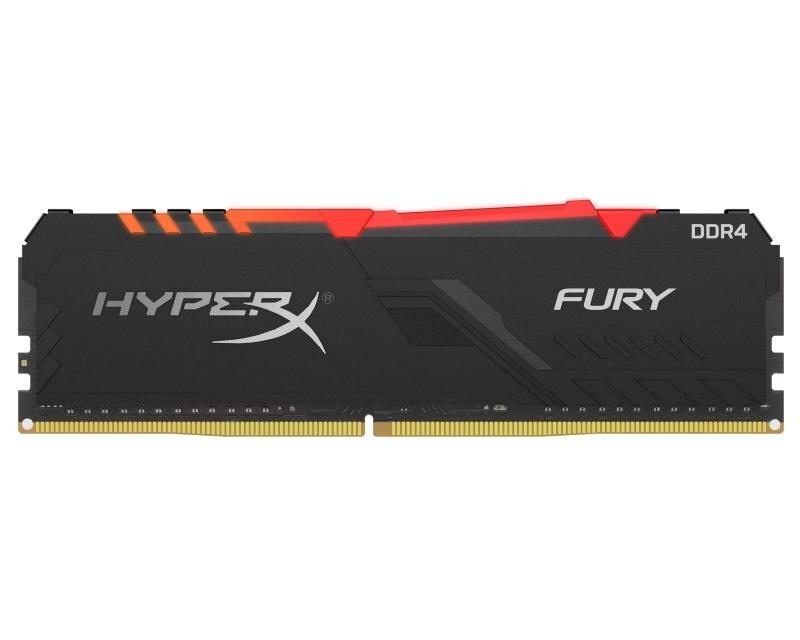 KINGSTON DIMM DDR4 8GB 3600MHz HX436C17FB3A/8 HyperX Fury RGB