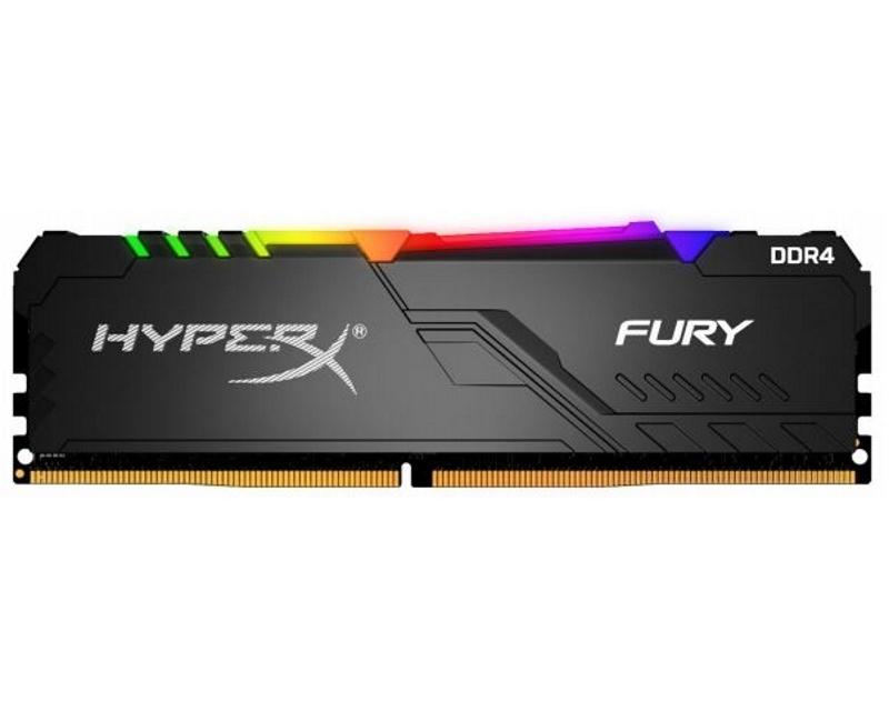 KINGSTON DIMM DDR4 8GB 3733MHz HX437C19FB3A/8 HyperX Fury RGB